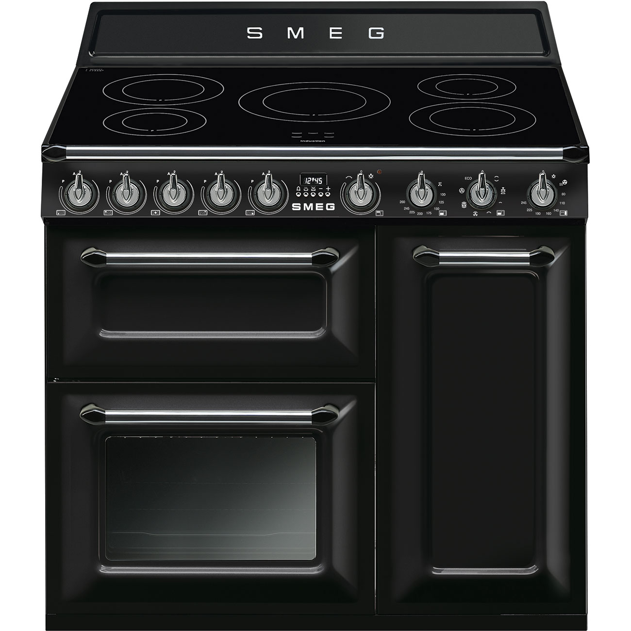 Cooker tr93ibl smeg smeg hk - Piano induction smeg ...